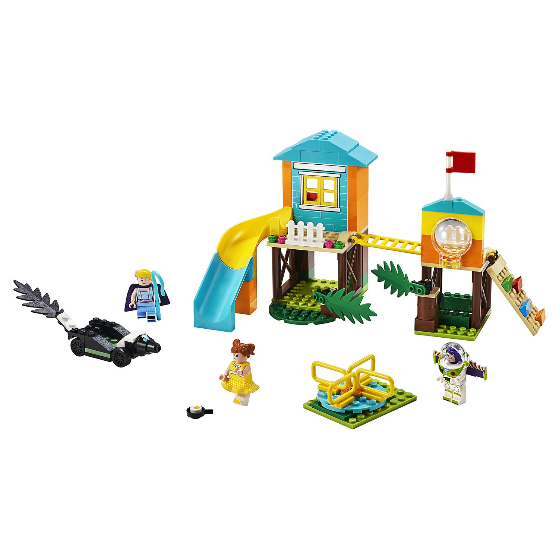 Конструктор Lari «Приключения Базза и Бо Пип на детской площадке» 11319 (Toy Story 10768) / 157 деталей