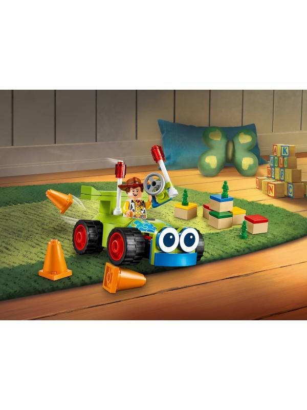 Конструктор Lari «Вуди на машине» 11316 (Toy Story 10766) / 75 деталей