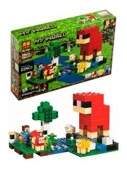Конструктор Lari «Шерстяная ферма» 11361 (Minecraft 21153) / 266 деталей