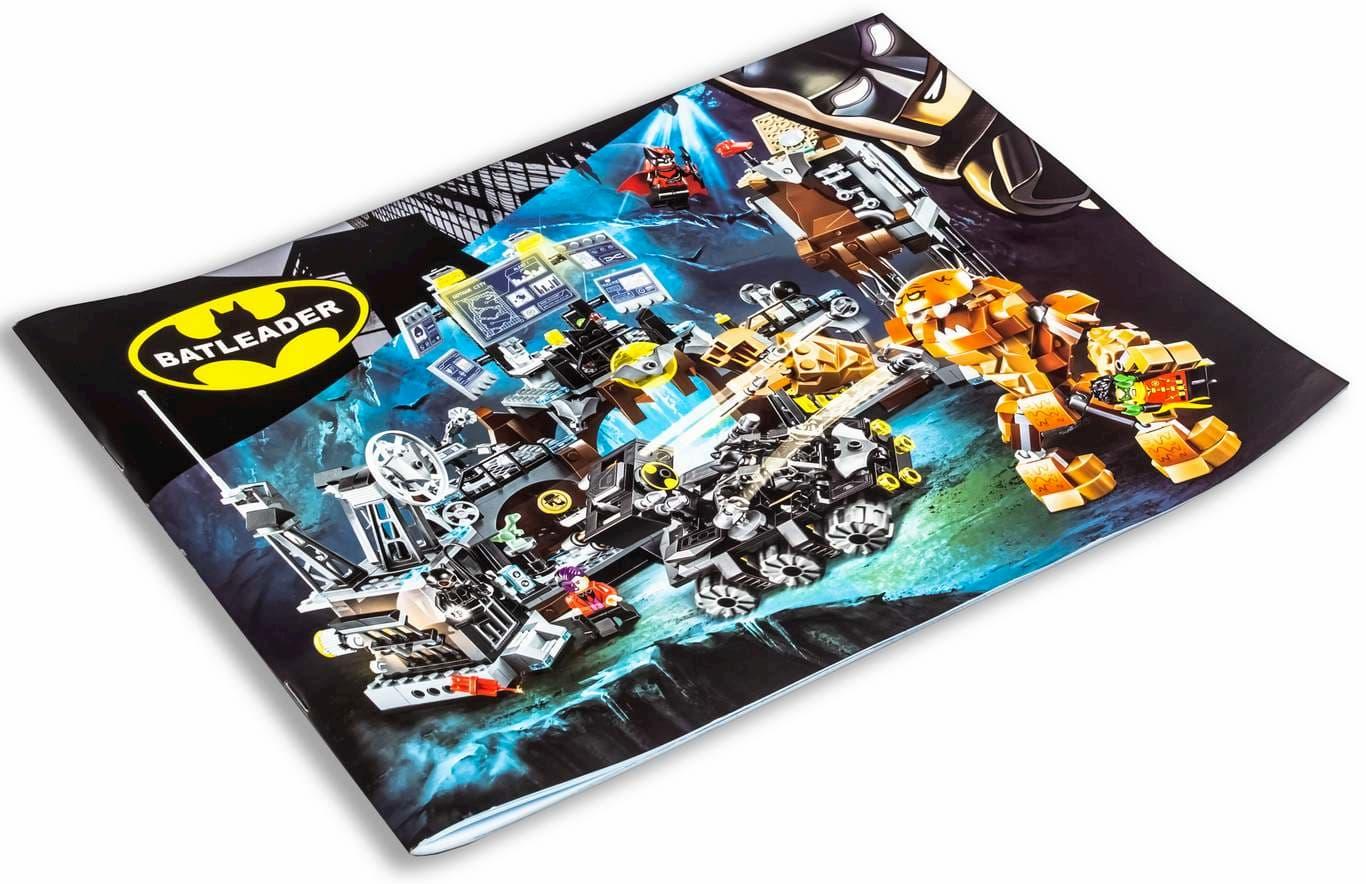 Конструктор Lari «Вторжение Глиноликого в бэт-пещеру» 11353 (DC Batman 76122) / 1071 деталь