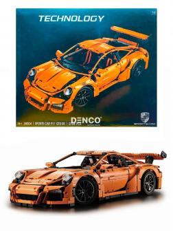Конструктор Ll «Porsche 911 GT3 RS» 38004 (Technic 42056) / Оранжевый / 2704 детали