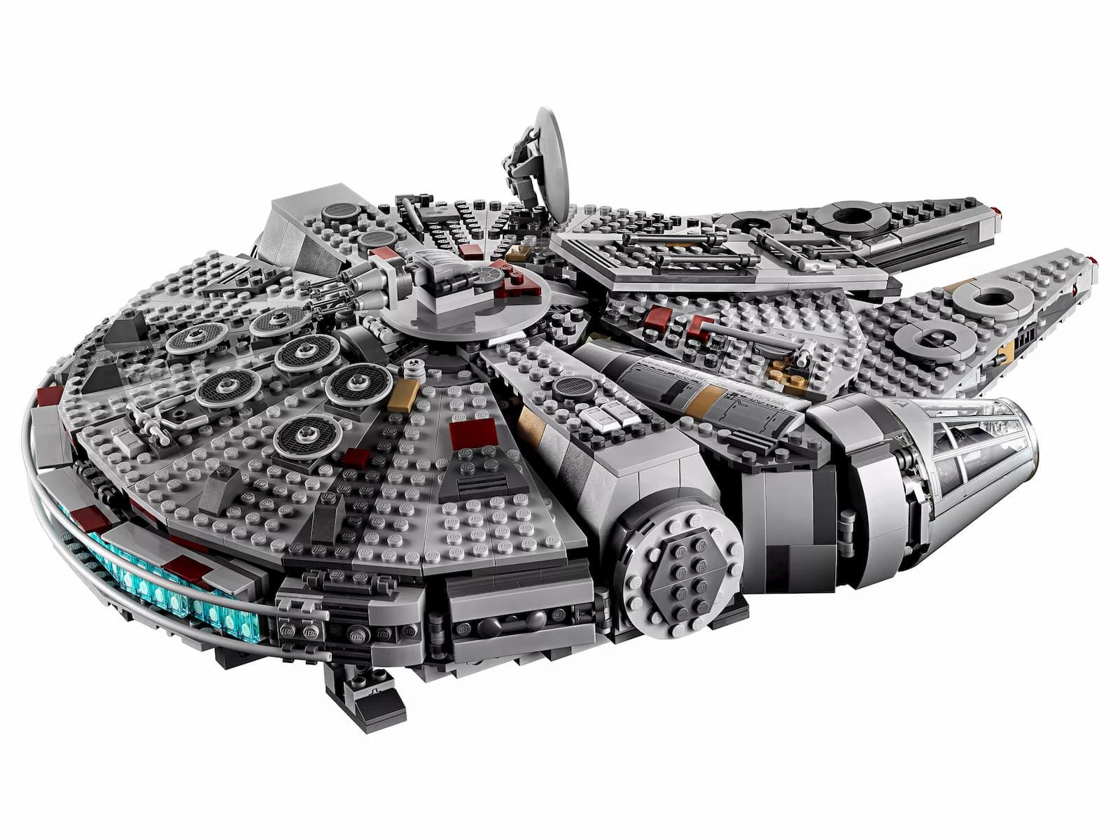 Конструктор LE JI «Сокол Тысячелетия» LJ99022 (Star Wars 75257) / 1351 деталь