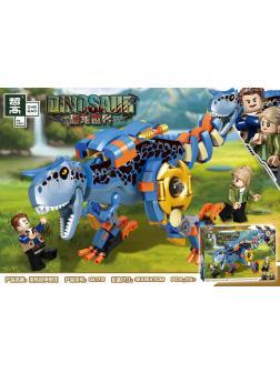 Конструктор PRCK «Тиранозавр в Экзоскелете» (Jurassic World) QL1712, 274 деталей