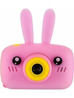 Детский цифровой фотоаппарат Fun Camera Rabbit (Зайчик) BT600057 / Розовый