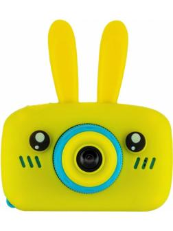 Детский цифровой фотоаппарат с играми и встроенной памятью GSMIN Fun Camera Rabbit BT600056