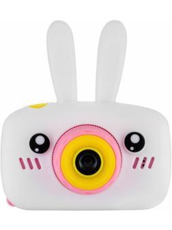 Детский цифровой фотоаппарат с играми и встроенной памятью GSMIN Fun Camera Rabbit BT600058