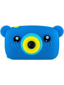 Детский цифровой фотоаппарат с играми и встроенной памятью GSMIN Fun Camera Bear BT600060