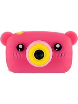 Детский цифровой фотоаппарат с играми и встроенной памятью GSMIN Fun Camera Bear BT600063