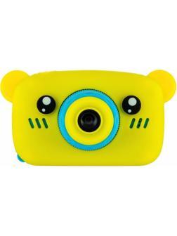 Детский цифровой фотоаппарат с играми и встроенной памятью GSMIN Fun Camera Bear BT600061