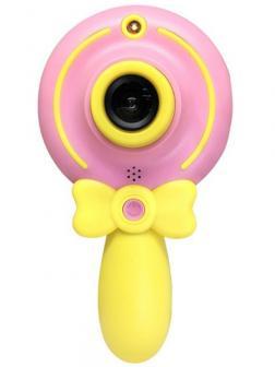 Детский фотоаппарат «Волшебная палочка» X3 Розовый