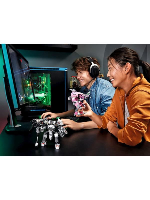 Конструктор LARI «D.Va и Райнхардт» 11181 (Overwatch 75973) 467 деталей