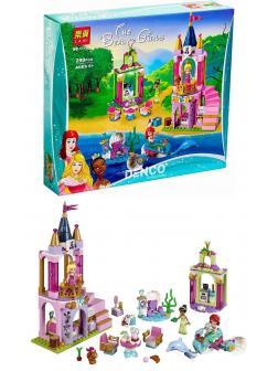 Конструктор Lari «Королевский праздник Ариэль, Авроры и Тианы» 11177 (Disney Princess 41162) / 300 деталей