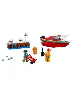 Конструктор LARI «Пожар в порту» 11212 (City 60213) 109 деталей