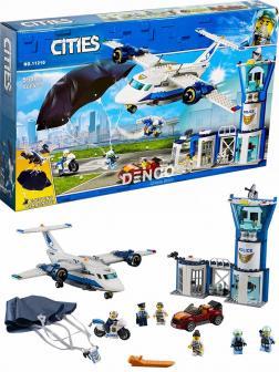 Конструктор Lari «Воздушная полиция: авиабаза» 11210 (City 60210) / 559 деталей