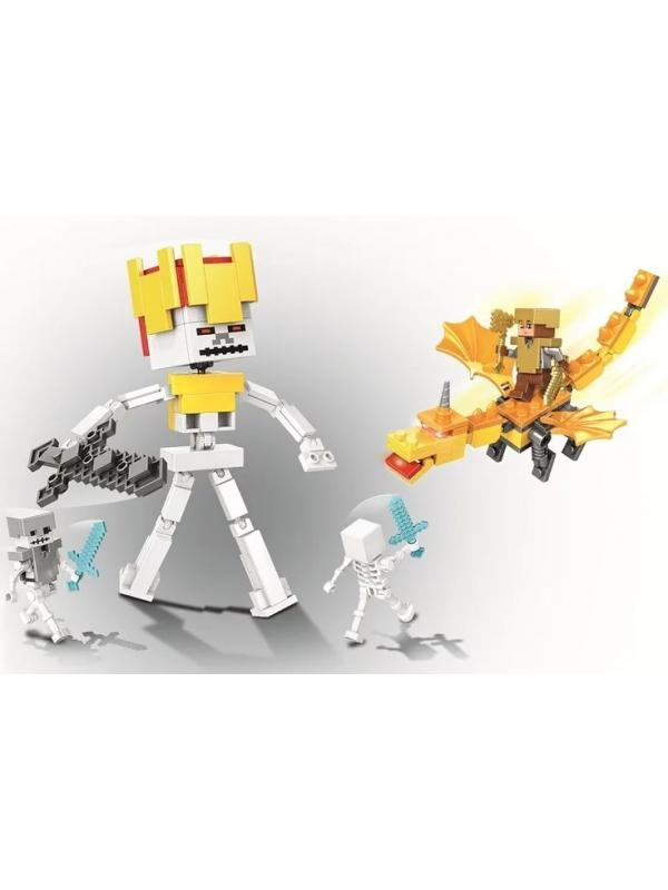 Конструктор Lari «Золотой дракон» 11264 (Minecraft) 185 деталей