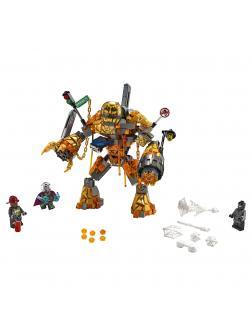 Конструктор Lari «Бой с Расплавленным Человеком» 11313 (Super Heroes 76128) 312 деталей
