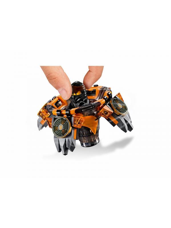 Конструктор Lari «Коул - мастер Кружитцу» 11155 (НиндзяГо 70662) 123 детали