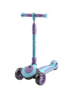 Детский Трехколесный Самокат Складной Buggy 2020 голубой