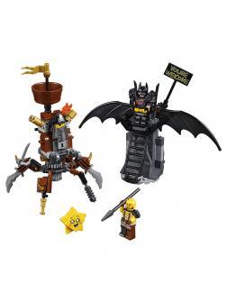 Конструктор Lari «Боевой Бэтмен и Железная борода» 11239 ( Аналог The ЛЕГО Movie 2 70836) 180 деталей