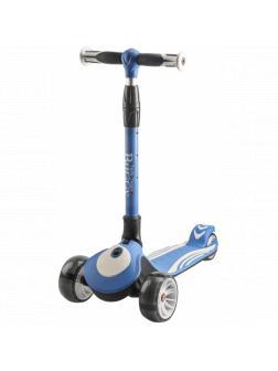 Детский Трехколесный Самокат Складной Buggy 2020 синий