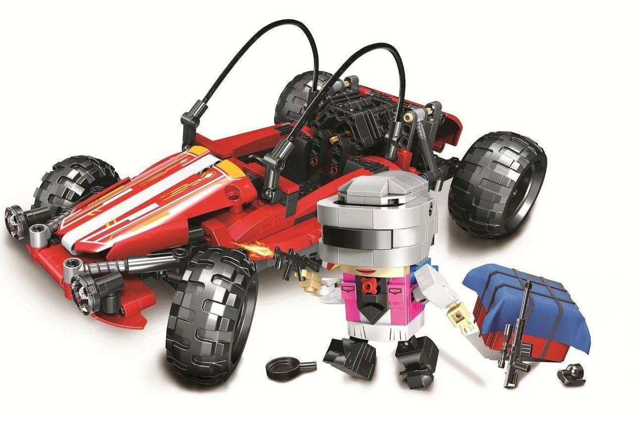 Конструктор Bl Battlegrounds «Гоночный автомобиль» 11082 (Creator) 570 деталей