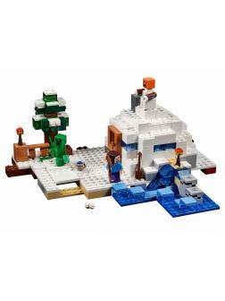 Конструктор Bl «Снежное убежище» 10391 (Minecraft 21120) 327 деталей