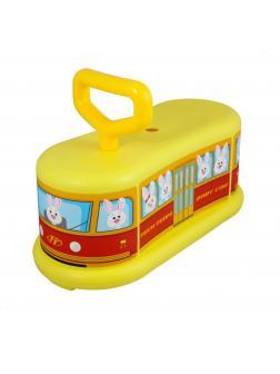 Детский cамокат Baby Car / Желтый