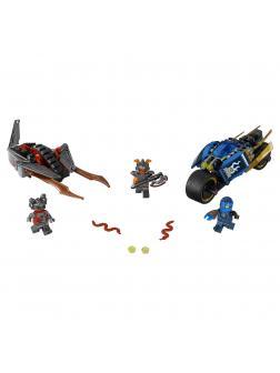 Конструктор «Пустынная молния» 10579 (Ninja 70622) / 219 деталей
