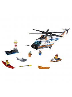 Конструктор Lari «Сверхмощный спасательный вертолет» 10754 (Совместимый с ЛЕГО City 60166) 439 деталей