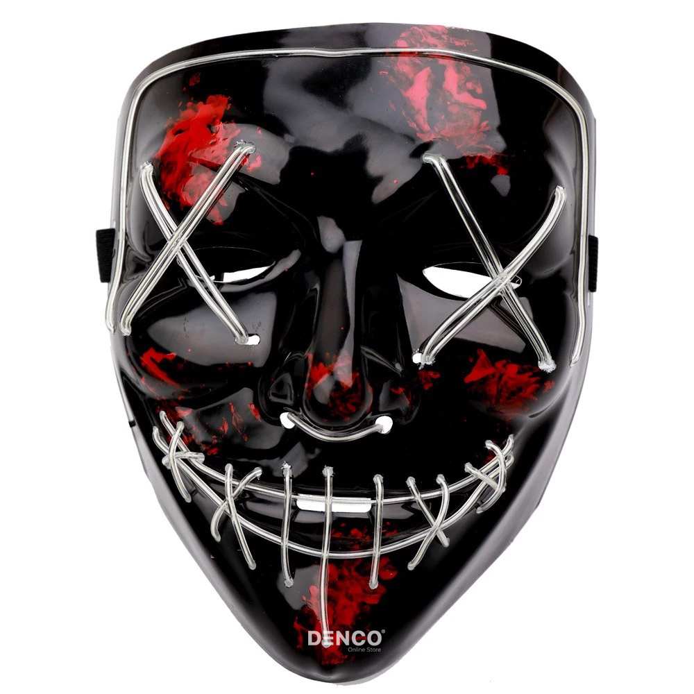 Неоновая маска из фильма Судная ночь / Белая