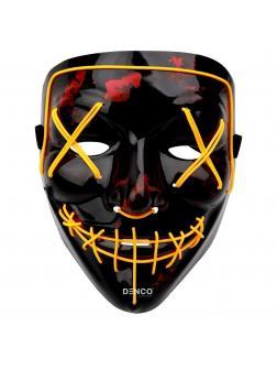 Неоновая маска из фильма Судная ночь / Желтая