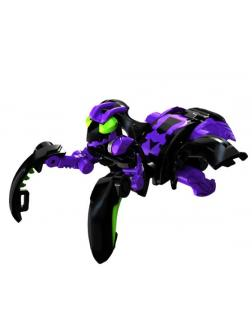 Фигурка-трансформер Бакуган Мантаноид Ультра (Bakugan Mantanoid Ultra Darkus) от SB / Фиолетовый