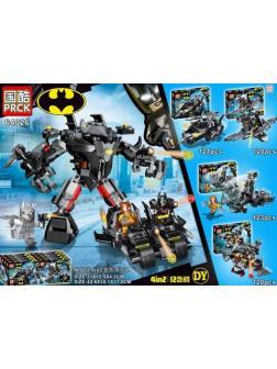 Конструктор PRCK «Бэтмен» 64026 (Batman) 4 вида