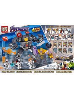 Конструктор PRCK Super Heroes «Воины» 64000 (Super Heroes) 16 шт. в упаковке