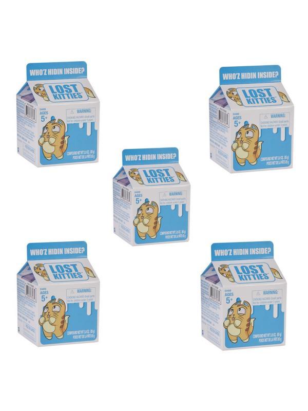 Набор 5 Котиков в Молоке