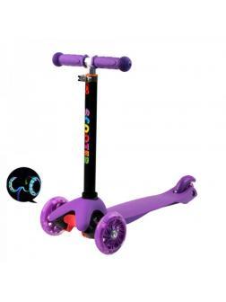 Детский Трехколесный Самокат Scooter Mini / Фиолетовый