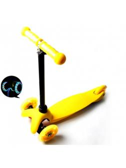 Детский Трехколесный Самокат Scooter Mini / Жёлтый