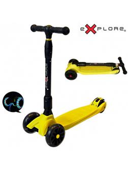 Детский Трехколесный Самокат Scooter Maxi Explore Smart / Жёлтый