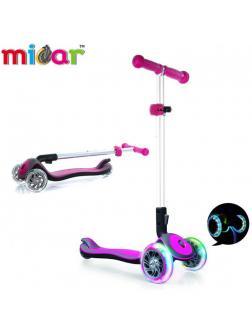 Детский Трехколесный Самокат Scooter Maxi Micar Cosmo / Розовый