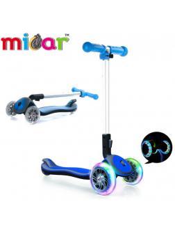 Детский Трехколесный Самокат Scooter Maxi Micar Cosmo / Синий