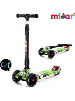 Детский Трехколесный Самокат Scooter Maxi Micar Ultra / Comics