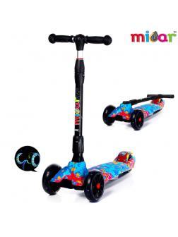 Детский Трехколесный Самокат Scooter Maxi Micar Ultra / Juicy