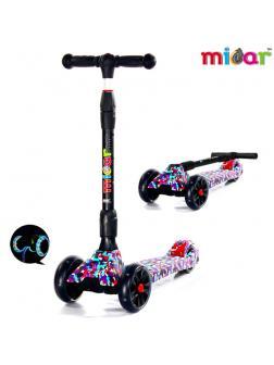 Детский Трехколесный Самокат Scooter Maxi Micar Ultra / Mosaic