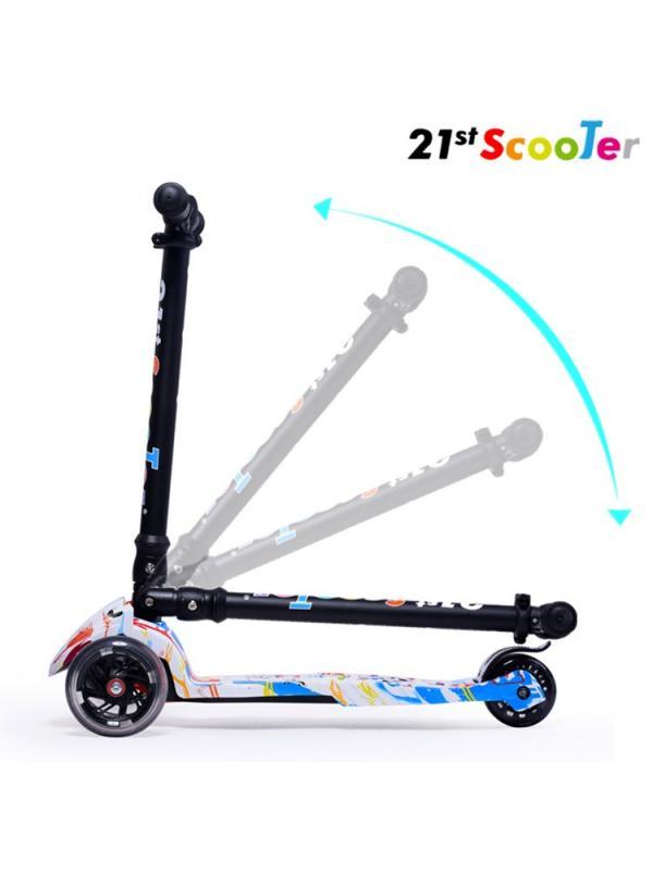 Детский Трехколесный Самокат Scooter Maxi Print / Dalmatinec
