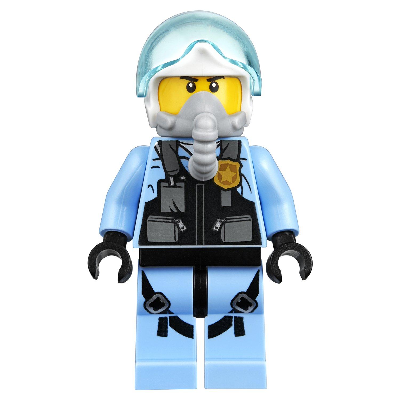 Конструктор Lp «Воздушная полиция: погоня дронов» 02126 (City 60207) 215 деталей