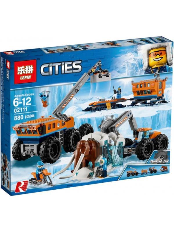 Конструктор Lp «Передвижная арктическая база» 02111 (City 60195) 880 деталей