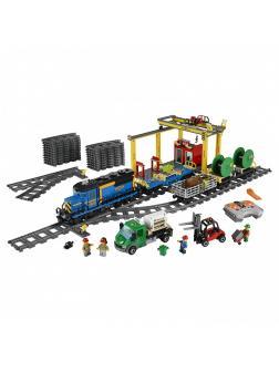 Конструктор Lp «Грузовой поезд» 02008 (City 60052) / 959 деталей