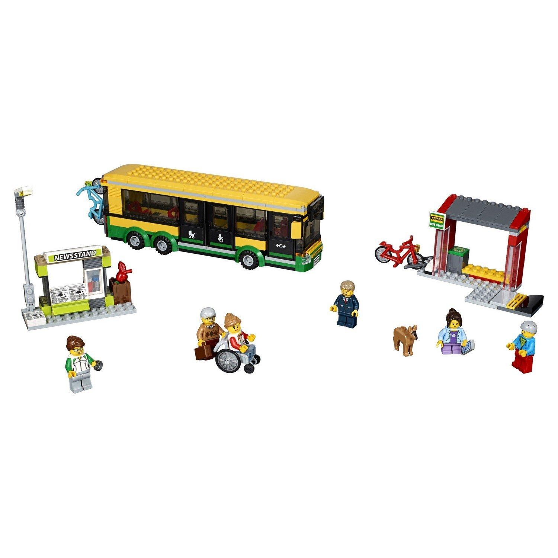 Конструктор Lp «Автобусная остановка» 02078 (City 60154) / 377 деталей