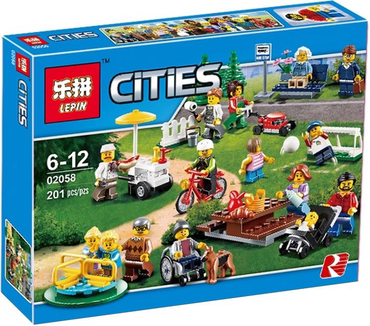 Конструктор Lp Сити «Праздник в парке» 02058 (City 60134) 258 деталей