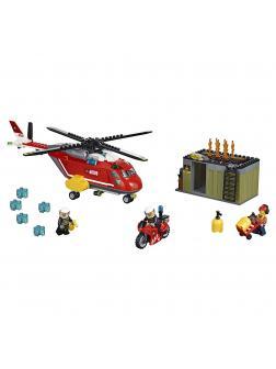Конструктор Lp «Пожарная команда быстрого реагирования» 02046 (City 60108) 305 деталей